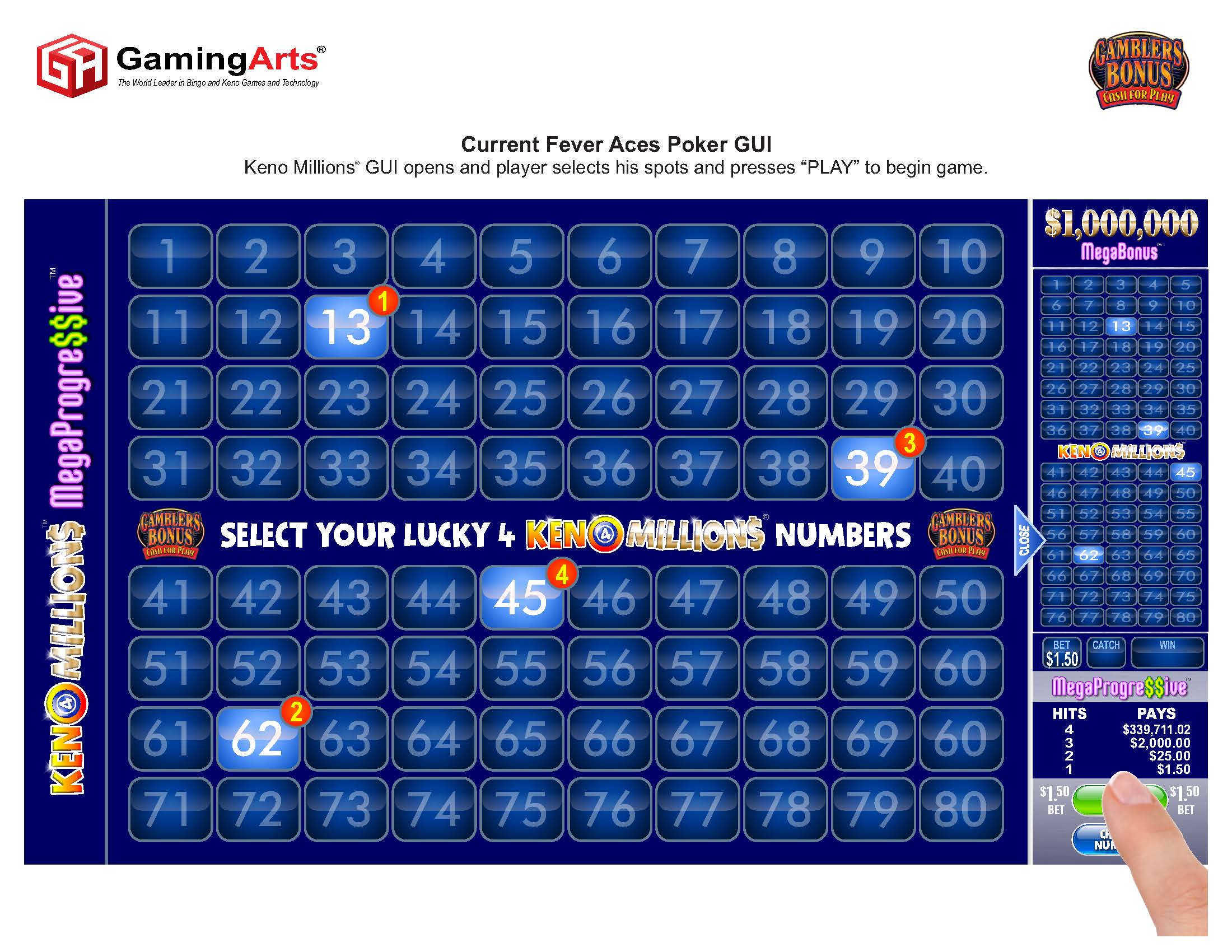 Online scratch card games
